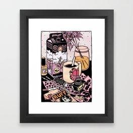 Illustrator's Morning Framed Art Print