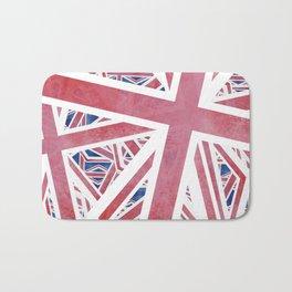Union Jack Collage Bath Mat