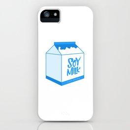soy milk iPhone Case