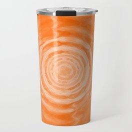 Ripples_Orange Travel Mug