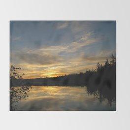 Sunset 37 Throw Blanket