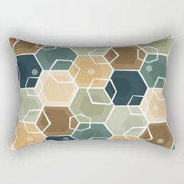 Cubes Rectangular Pillow