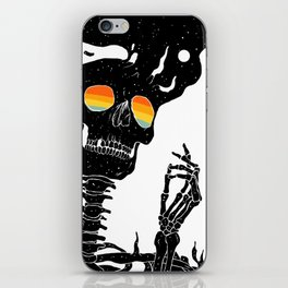 One with the Universe (Existential Diffusion) iPhone Skin