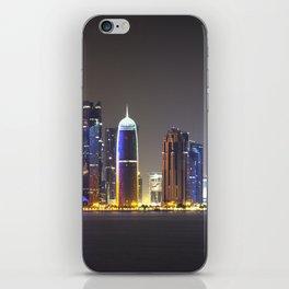 Paysage urbain de Doha // Doha Cityscape iPhone Skin