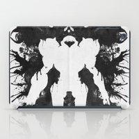 psychology iPad Cases featuring Samus Aran Metroid Geek Psychological Diagnosis Ink Blot  by Barrett Biggers