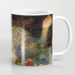 OPHELIA - JOHN EVERETT MILLAIS Coffee Mug