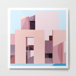 Dreamy Days - Architecture Series - 2 Metal Print