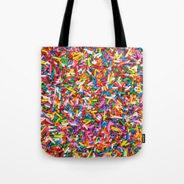 Rainbow Sprinkles Sweet Candy Colorful Tote Bag