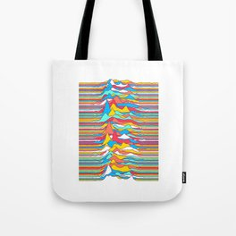 Unknown Colors Tote Bag