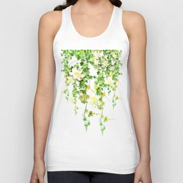 Watercolor Ivy Unisex Tank Top