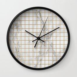 Marble #12 Wall Clock