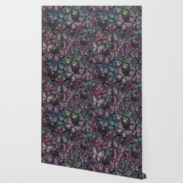 butterflies galore noir version Wallpaper