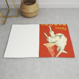 Vintage poster - Pates Baroni Rug