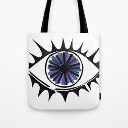 Blue Eye Warding Off Evil Tote Bag