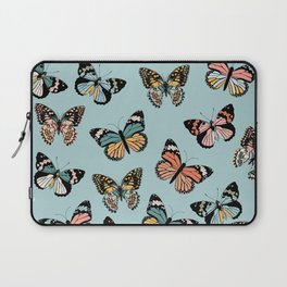 You Give Me Butterflies.. - Light Blue Laptop Sleeve