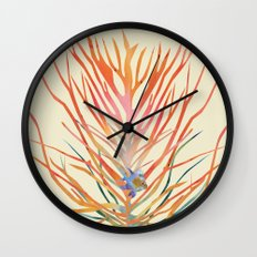 Blue Fish Wall Clock