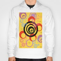 illusion Hoodies featuring Illusion by Ketjokha