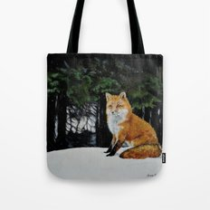 Red Fox of Algonquin Tote Bag