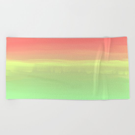 Summer Watermelon Beach Towel