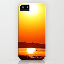 Evening at Chobe river, Botswana iPhone Case