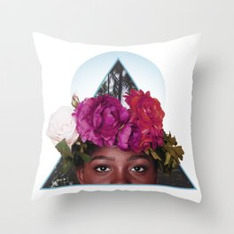 The Best Flowers to Give a Girl Throw Pillow