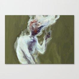 Head on Fire Canvas Print