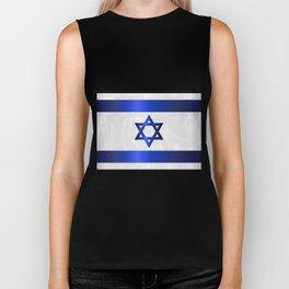 Israel Star Of David Flag Biker Tank
