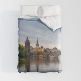 Charles Bridge, Prague, Czech Republic Comforters