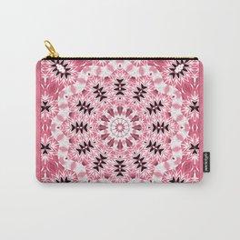 pink ornament, kaleidoscope, mandala, patchwork, pink mandala Carry-All Pouch