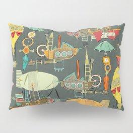 steampunk sky dark Pillow Sham