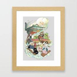 Chihiro Framed Art Print