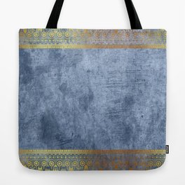 Blue Egypt Tote Bag