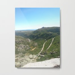 From up High Metal Print