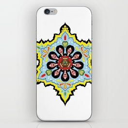 Alright linda belcher mandala kaleidoscope iPhone Skin