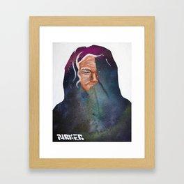 Cosmic Thought Framed Art Print