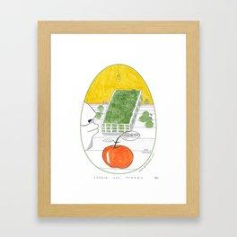 L'odore delle mele _ 5\34 _ Viola Gesmundo _ Piccoli piaceri della vita Framed Art Print