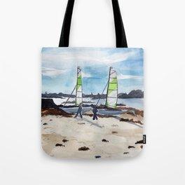 Saint-Maló beach Tote Bag