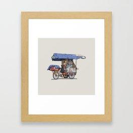 Rebusque Framed Art Print