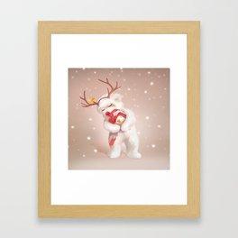 Embrance Framed Art Print