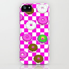 A King Cake Donut iPhone Case