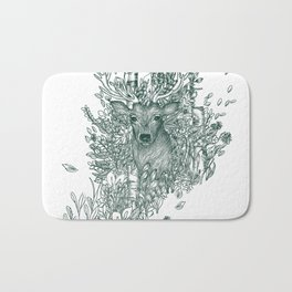King of the Forest: The Stag Bath Mat