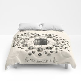 Doctor Who Companions poster Comforters