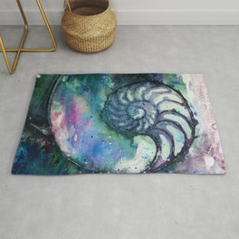Nature Music No.1D by Kathy Morton Stanion Rug