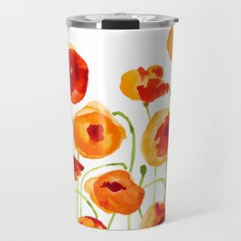 Poppy Sunrise Travel Mug