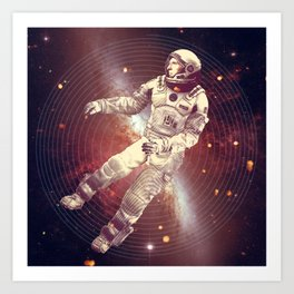 Time & Space Art Print