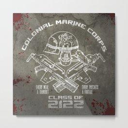 Class of 2122 Metal Print