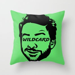 Wildcard Charlie Throw Pillow