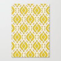diamonds Canvas Prints featuring Diamonds by Aimee St Hill