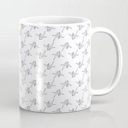 Senbazuru One Thousand Origami Cranes Coffee Mug