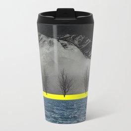 Between Mountain and Sea Metal Travel Mug